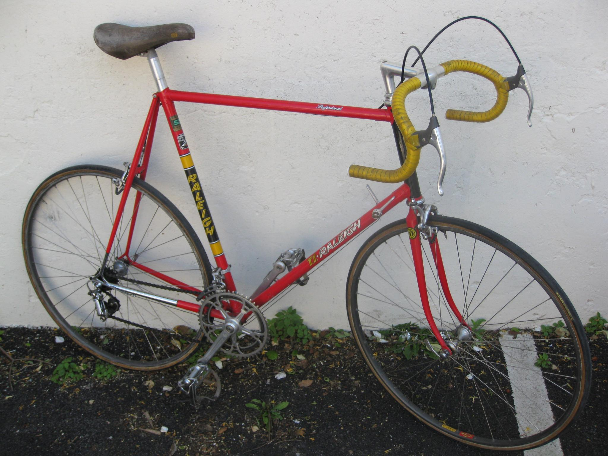 For Sale Vintage Raleigh Ti Team Professional Bike 64c 531c