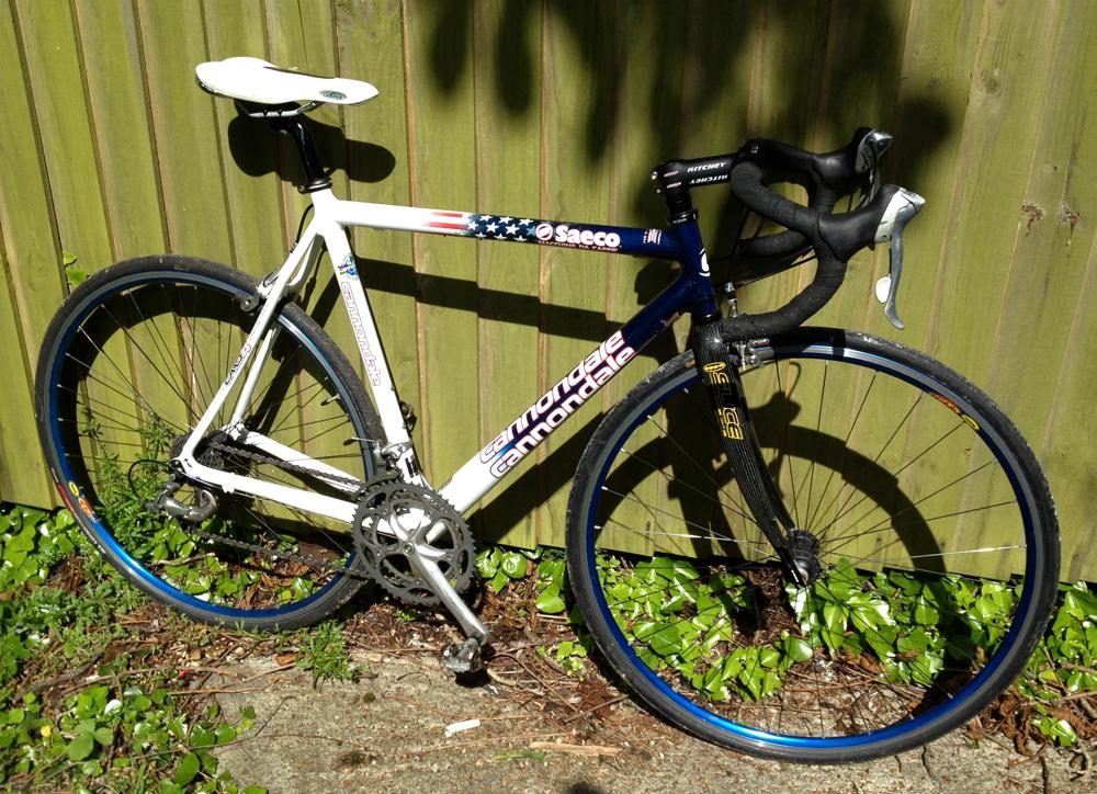 Cannondale Bikes For Sale >> Cannondale Caad4 Saeco, 52cm, stars and stripes   LFGSS