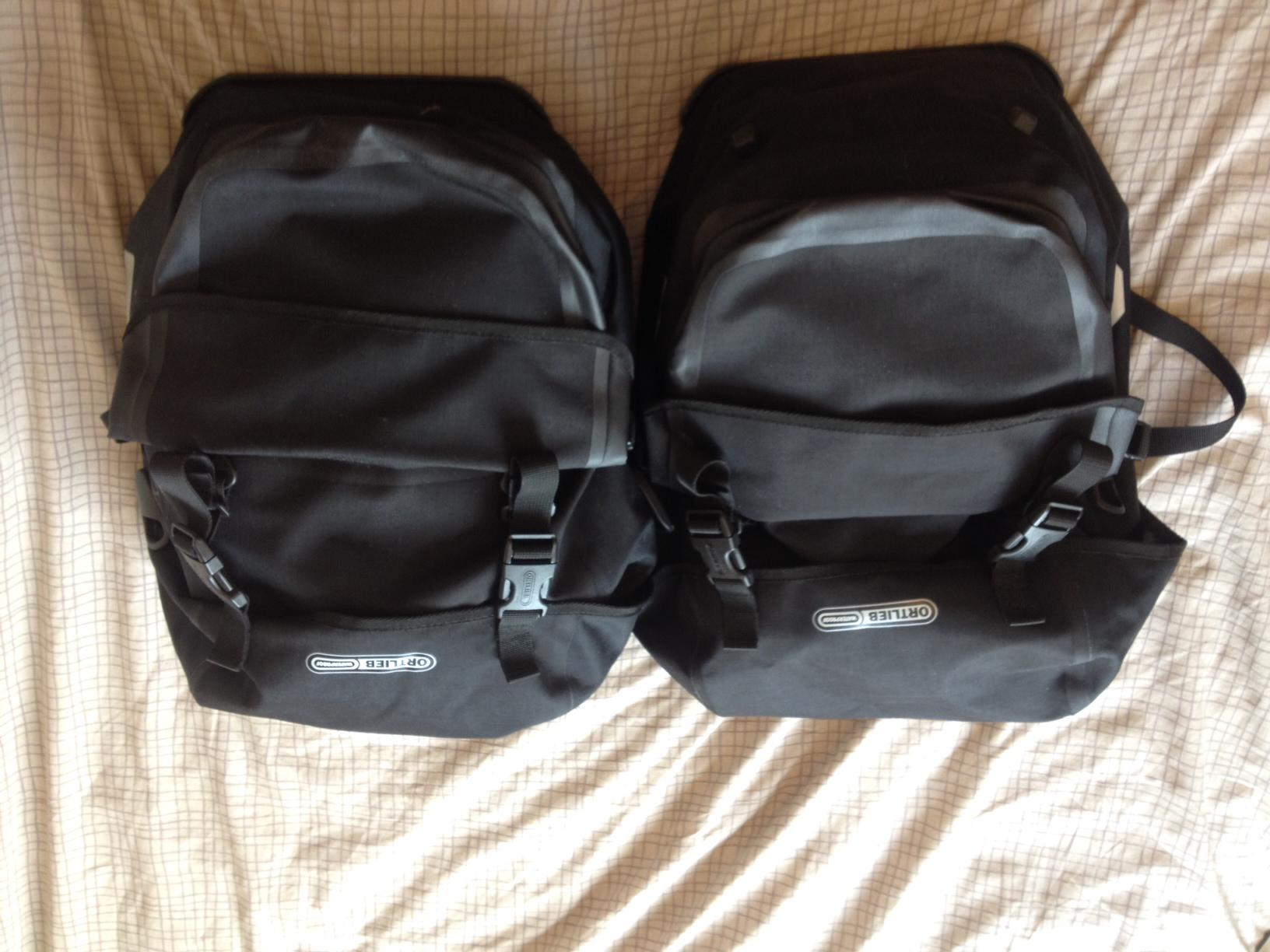 Ortlieb Bike Packer Plus Panniers Brand New Lfgss