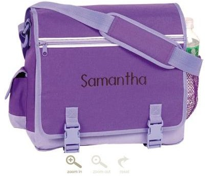 purple messenger bags