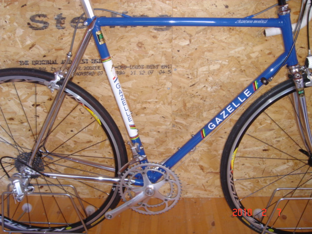 For Sale: Gazelle Champion Mondial AA Special Frame and Forks ...