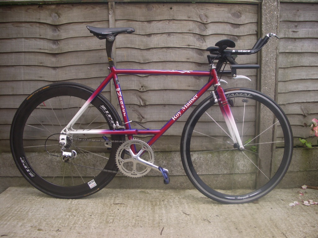 For Sale Roy Manser Time Trial Bike Lfgss