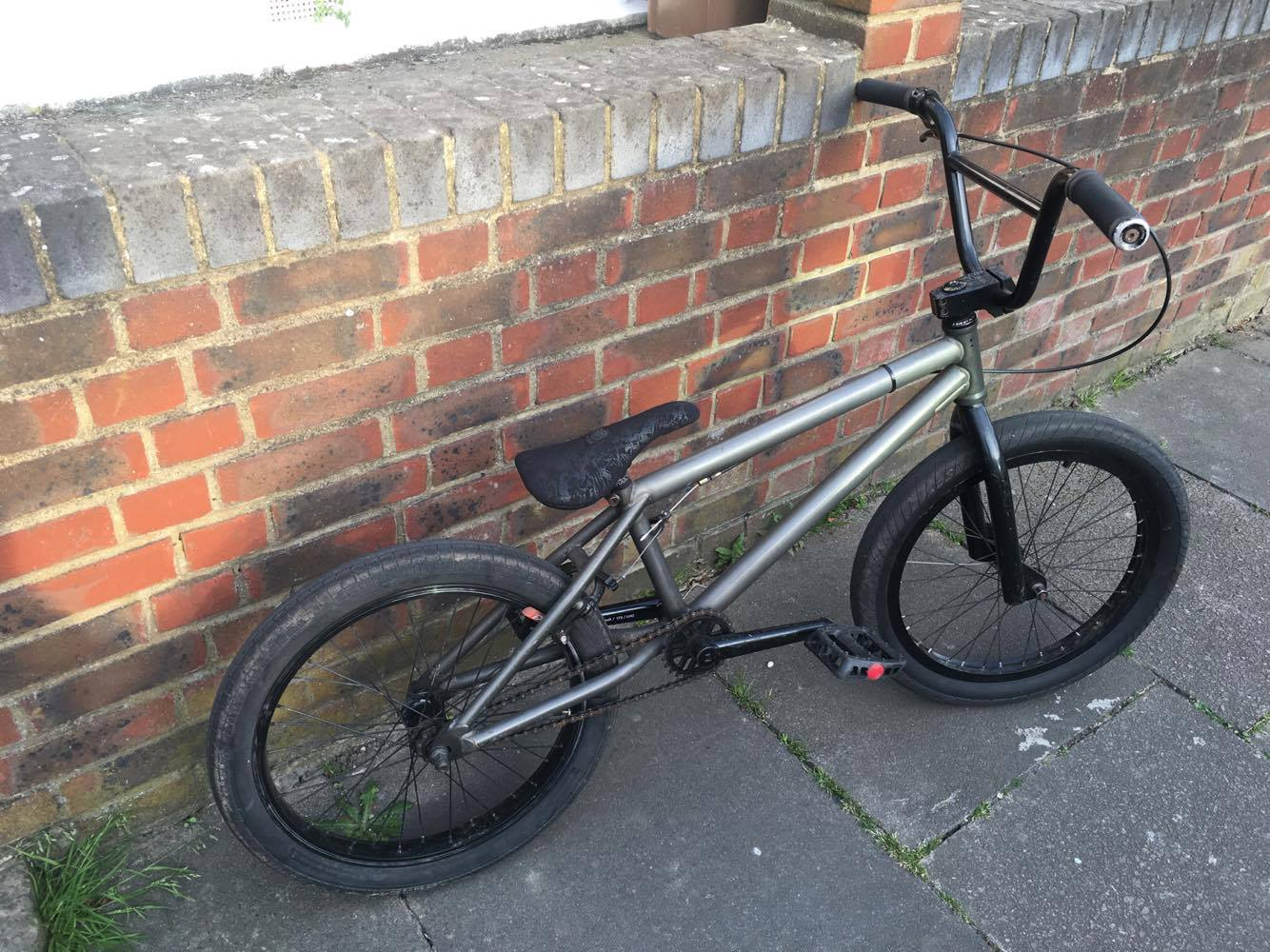 FS. Brother Swift Track Frameset BB seat post cranks and saddle. Fit ...