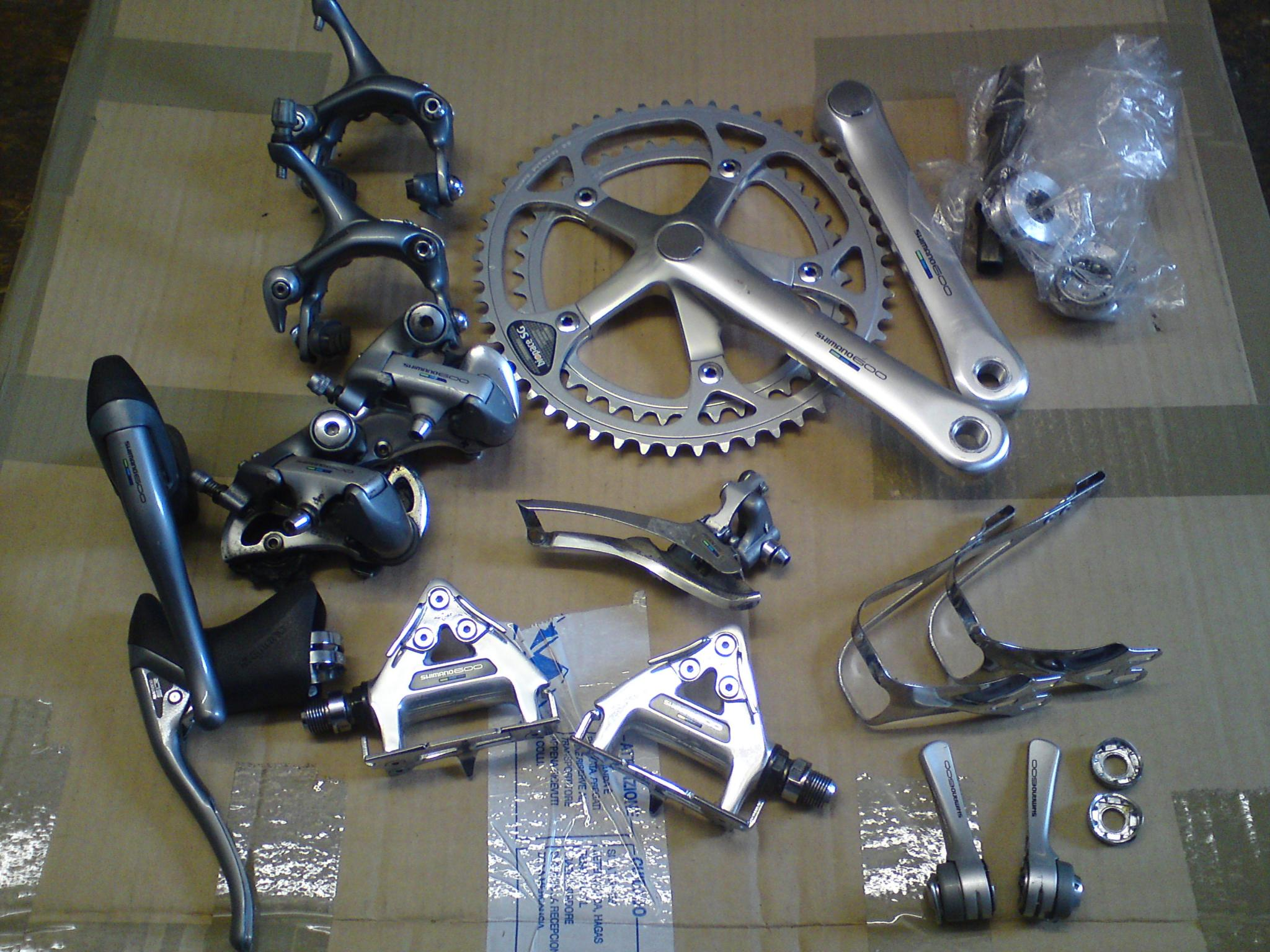 ee963a038a5 For Sale: very nice shimano 600 tri-colour groupset | LFGSS