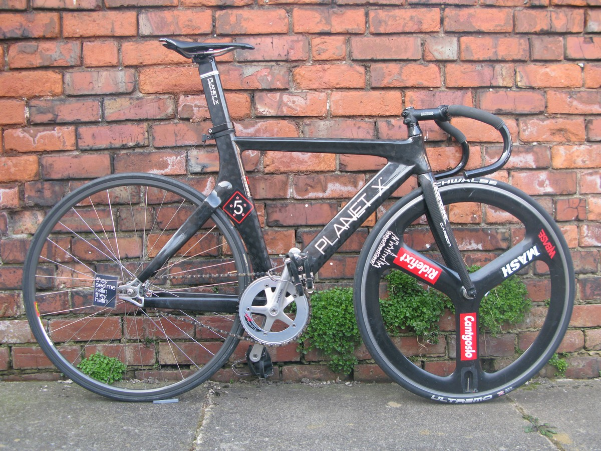 For Sale: Planet X Pro Carbon Stealth Track Frames (page 2)   LFGSS