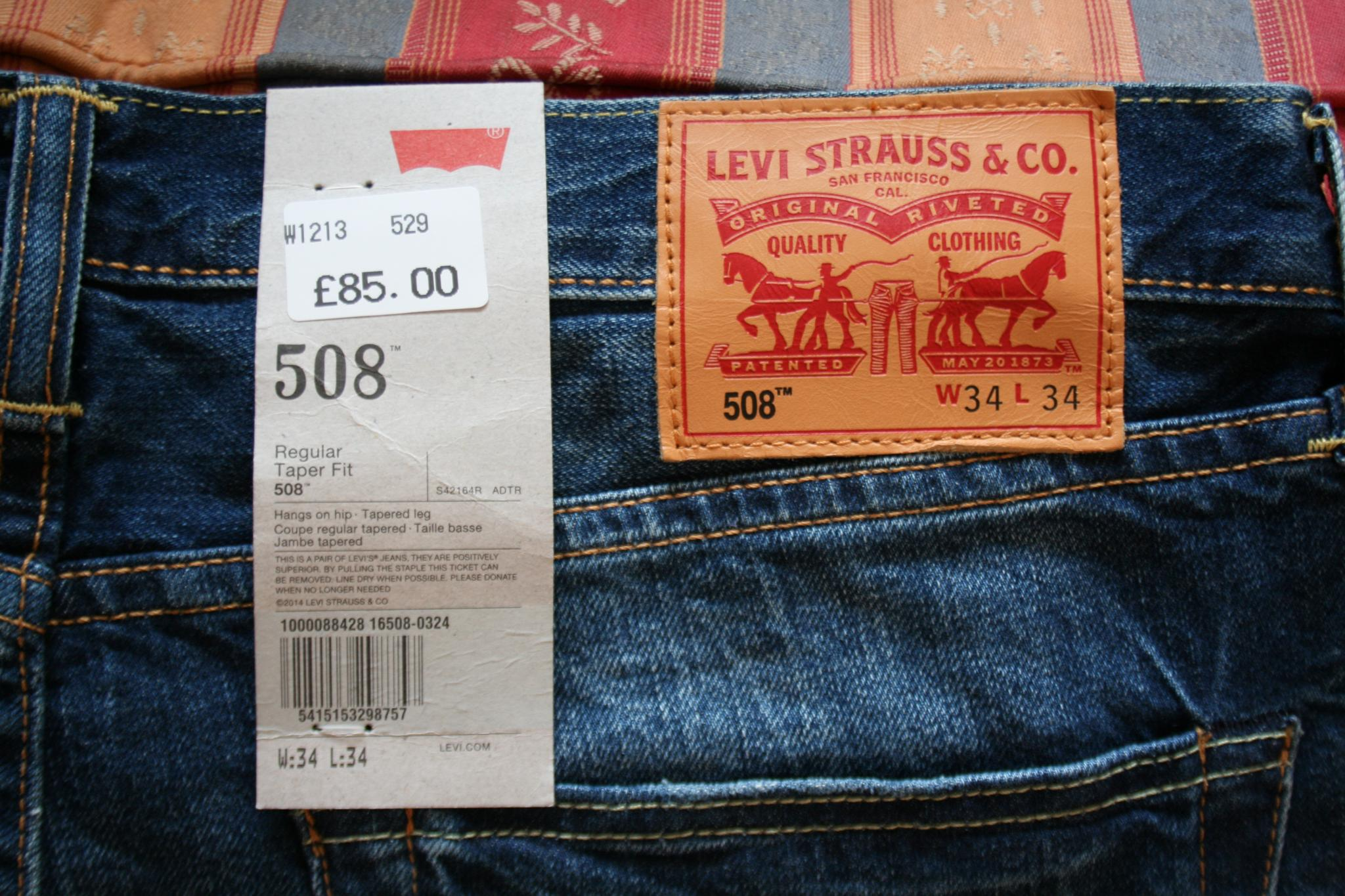 9b7dfc7755a Ot Levi S 508 Slim Jeans Lfgss. Джинсы Levi S 508 Regular Taper Fit Broken Raw  31 34 р 16508 0001