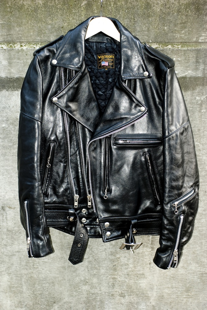 For Sale Ot Vanson Rock And Roller Leather Jacket Lfgss
