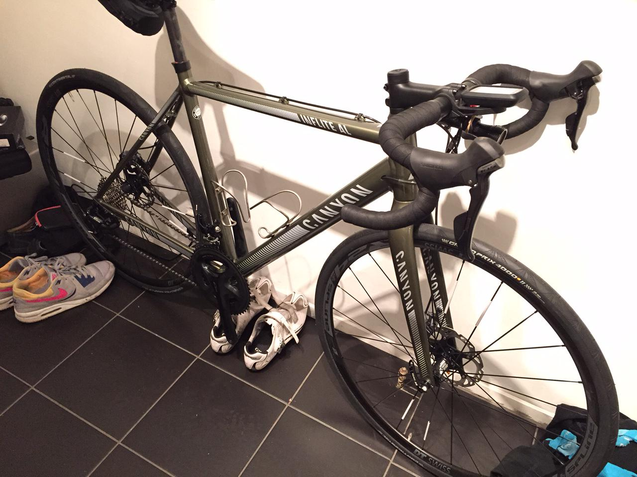 FS: Canyon Inflite AL 8 0S - Medium  Frame, forks and some