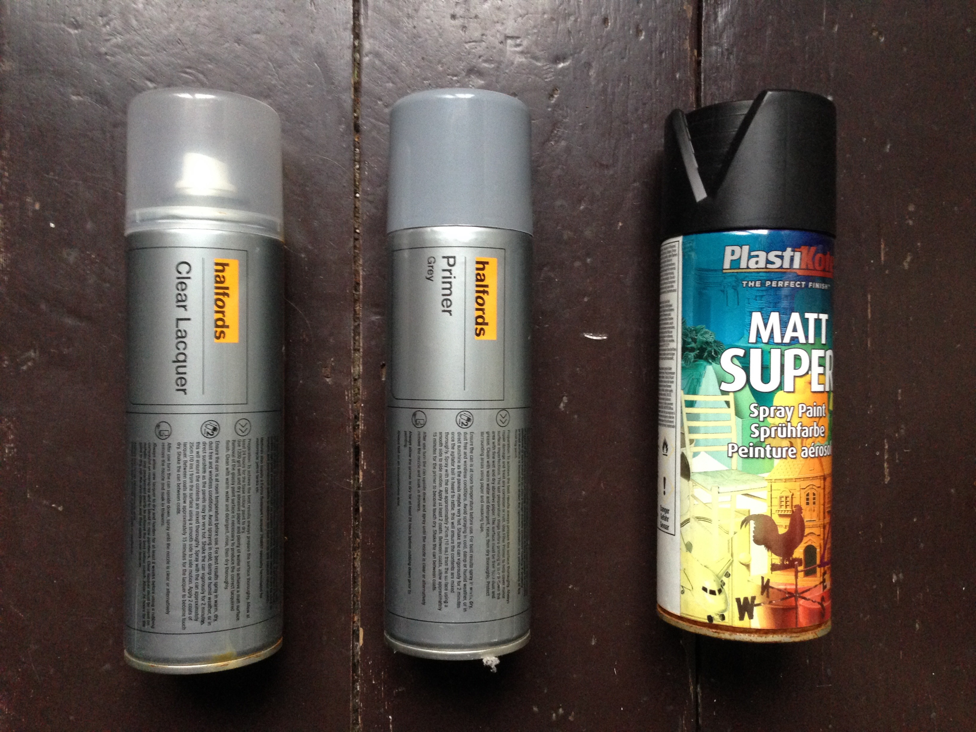 Freecycle Primer Clear Lacquer Black Spray Paint Lfgss