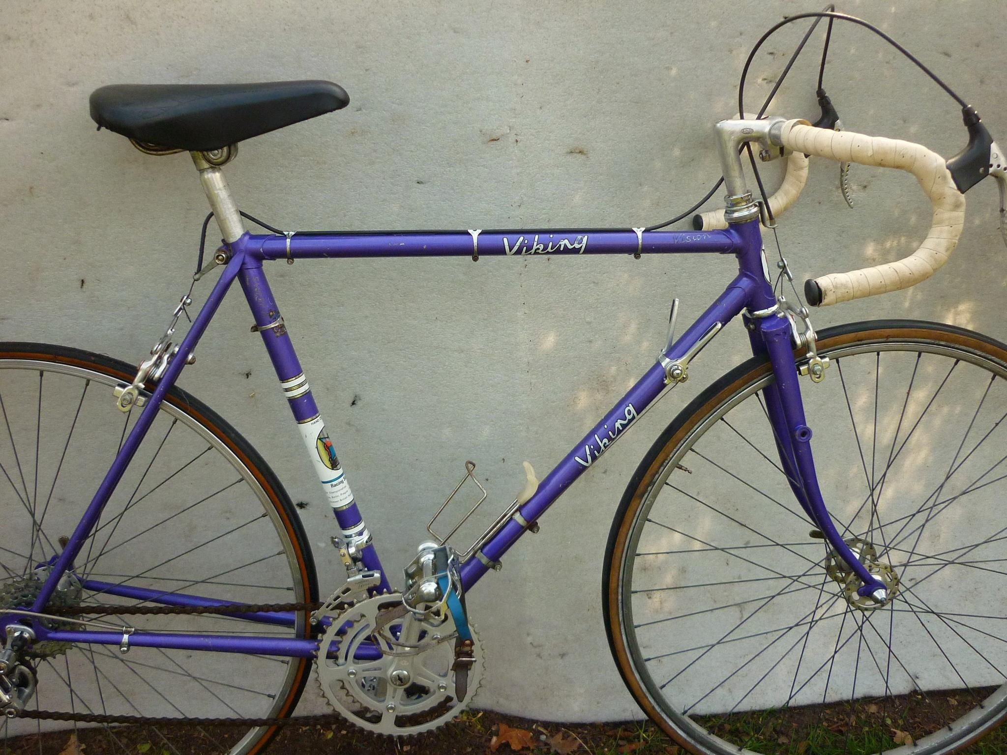 For Sale Viking Vision Full Bike 1970s 55cm Reynolds 531 Lfgss