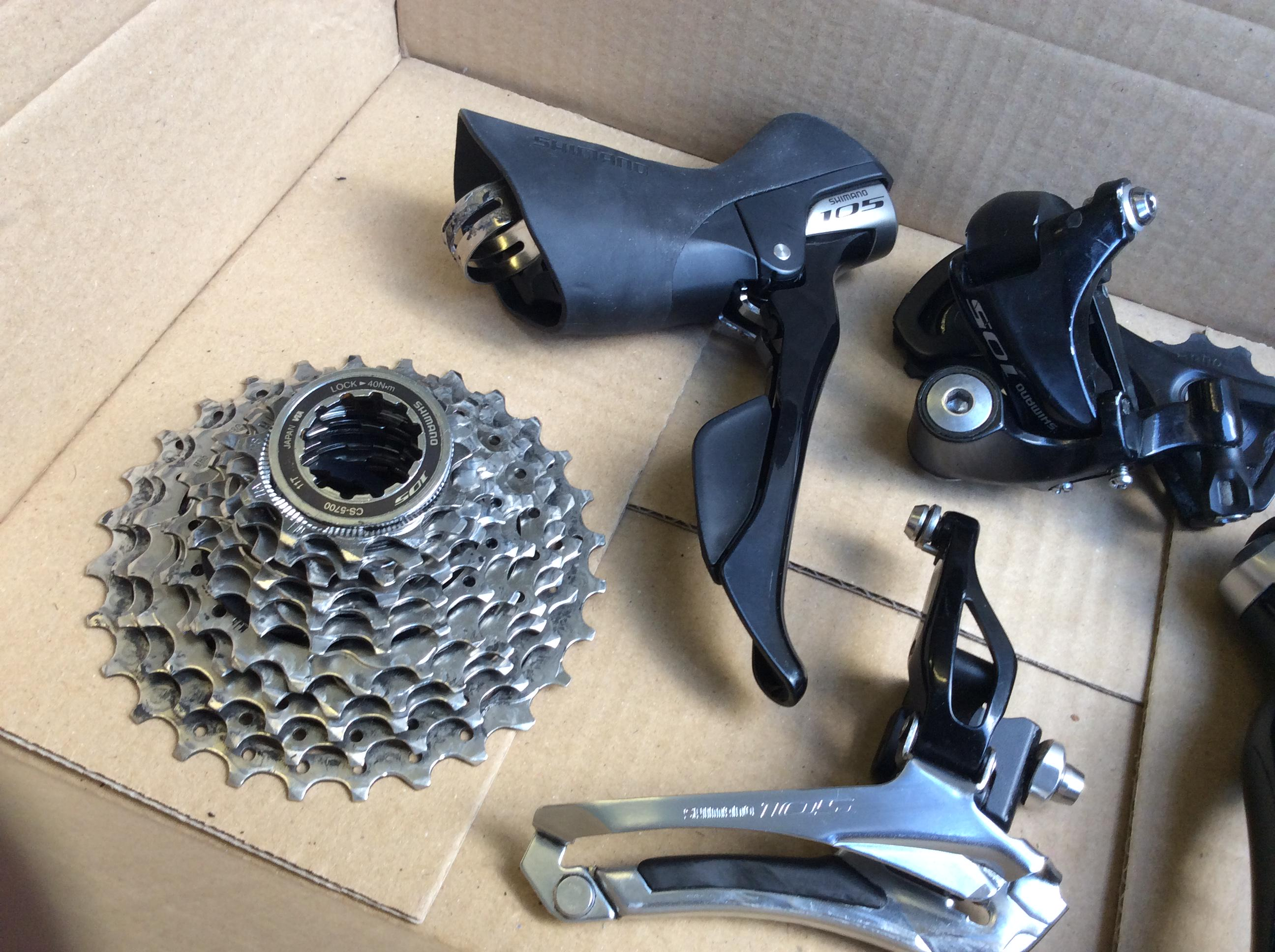 Shimano 105 5800 Groupset Sold Lfgss New In Box 5 Attachments