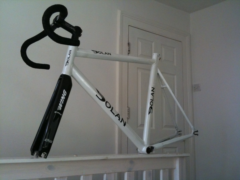 For Sale Cm Dolan Track Champion With Alpina Wing Pista Forks LFGSS - Alpina forks