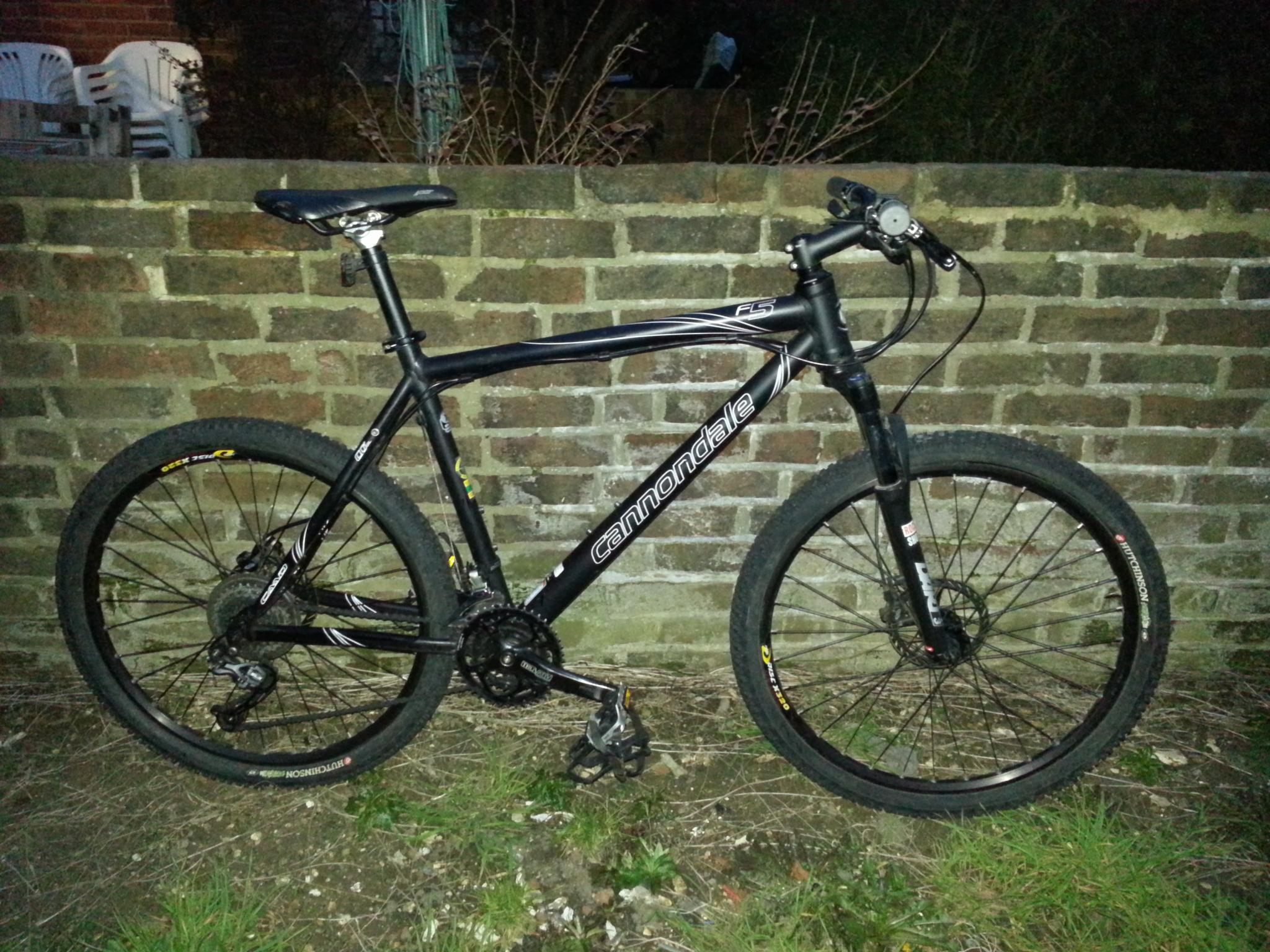 40a1826ae6f For Sale: Cannondale F5 2009 XL | LFGSS