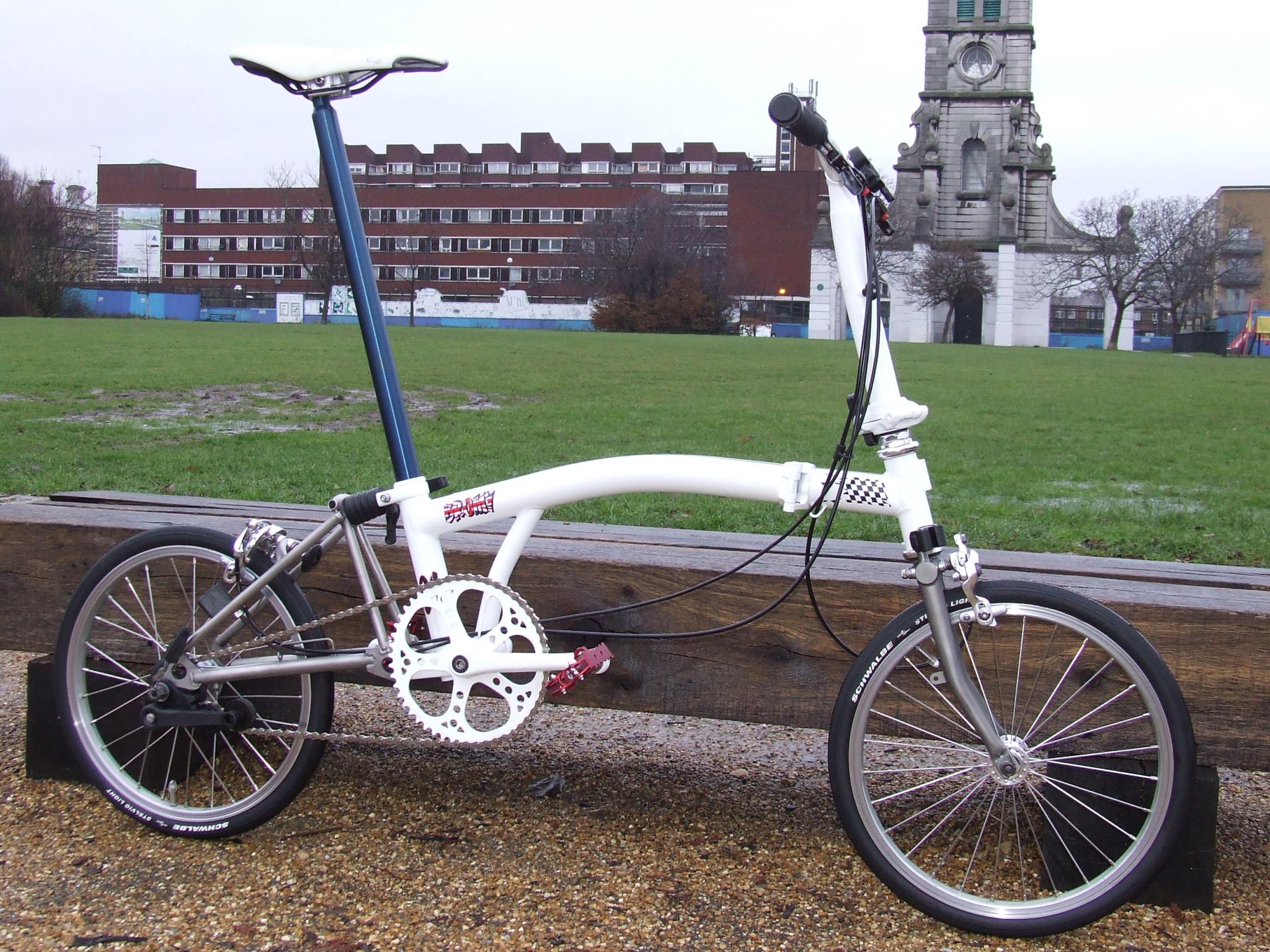 For Sale Brompton 3 Speed Titanium Lfgss