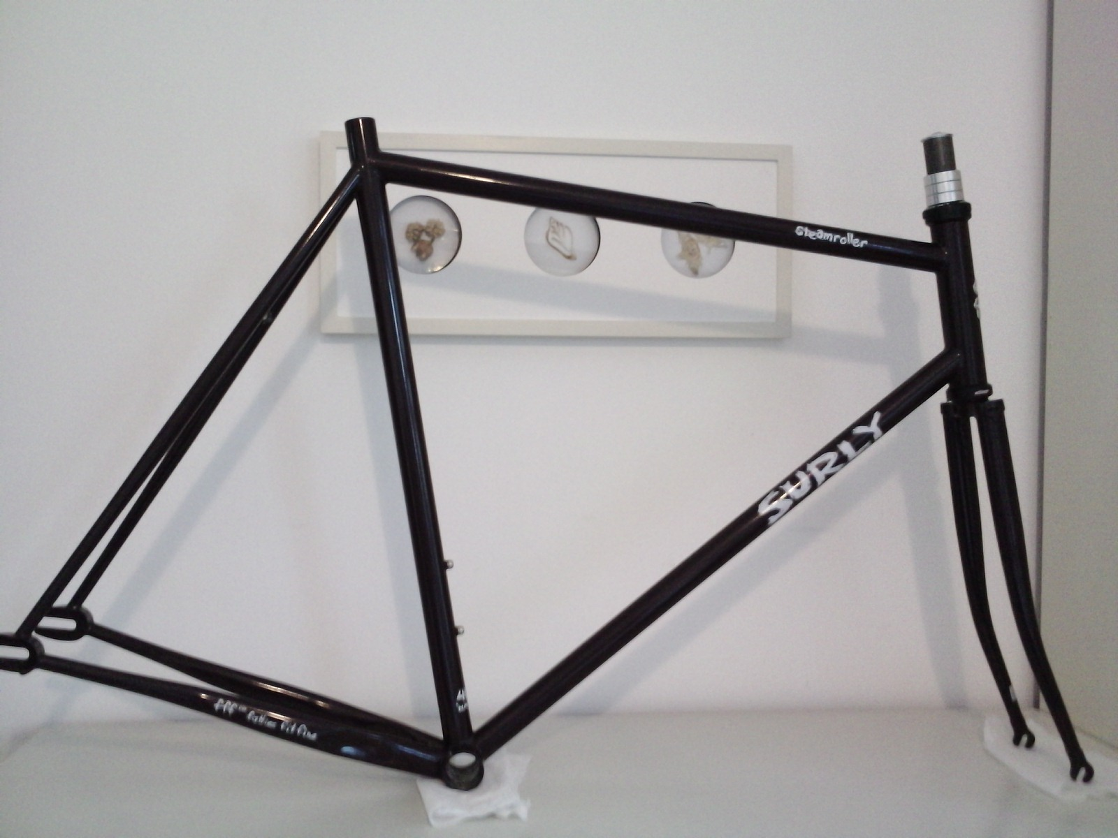 For Sale: Surly steamroller fixed bike track fixie frame | LFGSS