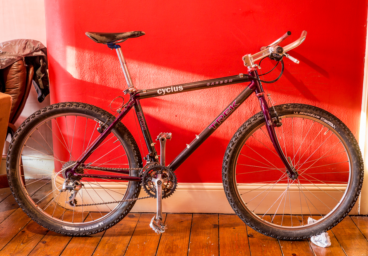 1994 Trek 8700 Mtb To Cross Ish Conversion Lfgss