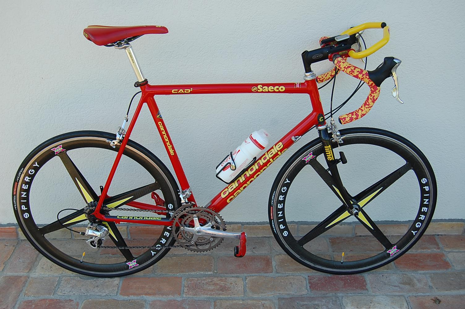 ddb2a9b8537 For Sale: cannondale caad3 saeco classical full dura ace 7700+ ...